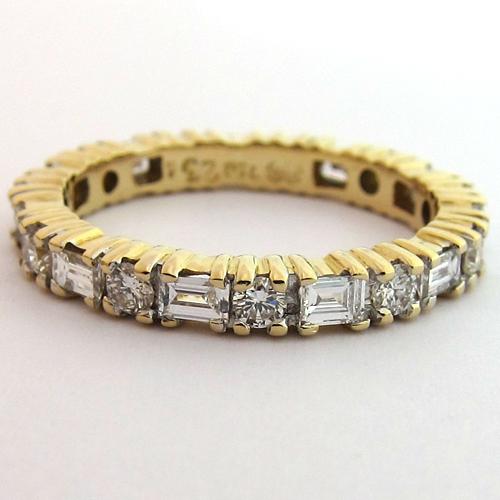 ... MARIAGE - ALLIANCE OR DIAMANTS OCCASION 1122 - Bijoux anciens Paris