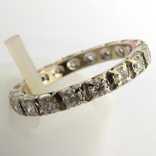 de mariage anciennes - Alliance or blanc diamants 993 - Bijoux ...
