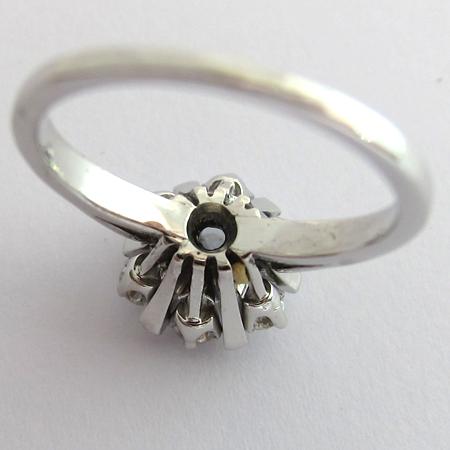 bagues de fiancailles vintage bague de fiancailles diamants 1167 bijoux anciens paris. Black Bedroom Furniture Sets. Home Design Ideas