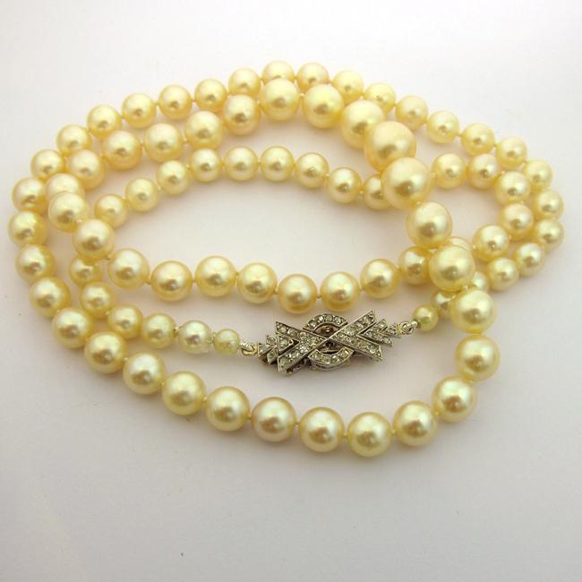 collier perle de culture pandora