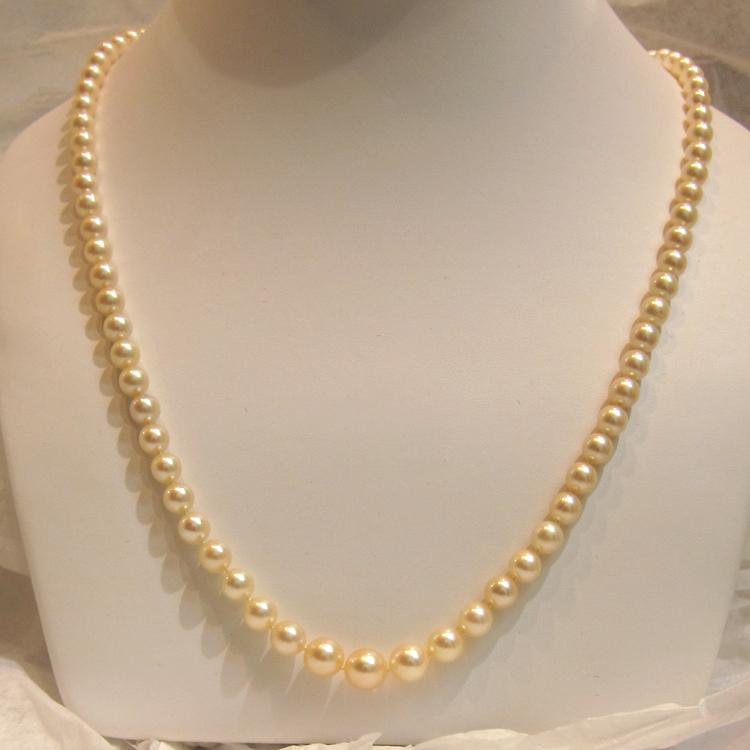 bijou perle de culture collier de perles de culture 168. Black Bedroom Furniture Sets. Home Design Ideas