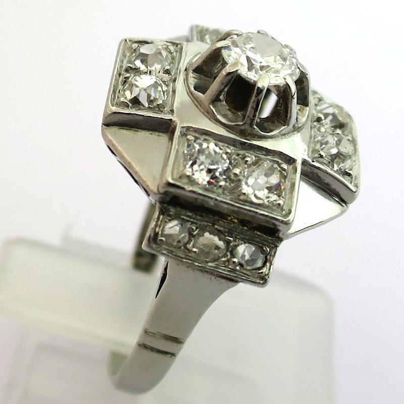 bijoux anciens 12 bague diamants d 233 co 1524