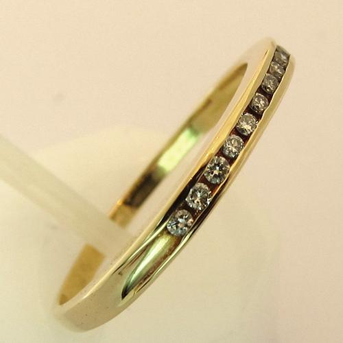 ... mariage occasion - Alliance diamants or 934 - Bijoux anciens Paris