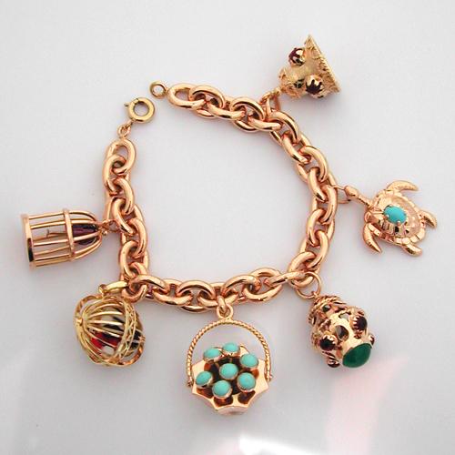 acheter bracelet or pendeloques 109 achat d 39 or vente bijou or occasion bijoux anciens paris or. Black Bedroom Furniture Sets. Home Design Ideas
