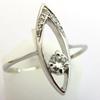 Bague diamant design 1105