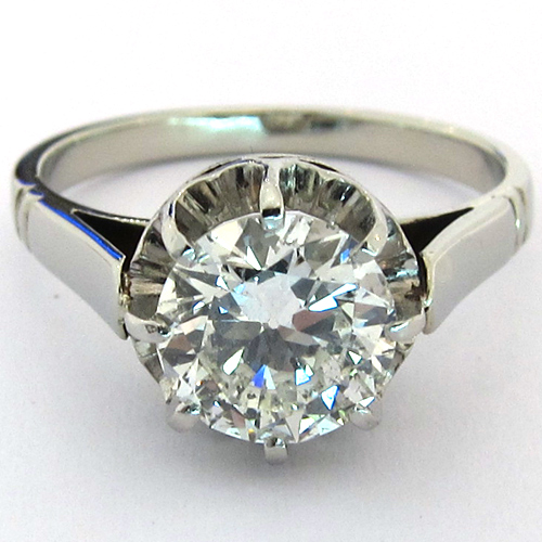 bague diamant monture ancienne 1239 bijoux anciens paris. Black Bedroom Furniture Sets. Home Design Ideas