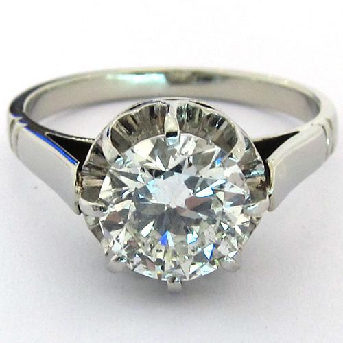 f4ad3fa2fe6 Bague diamant monture ancienne 1239.
