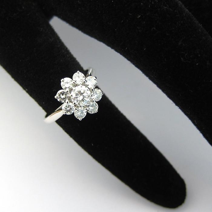 Bien connu Bague fleur diamant 1331 NM16