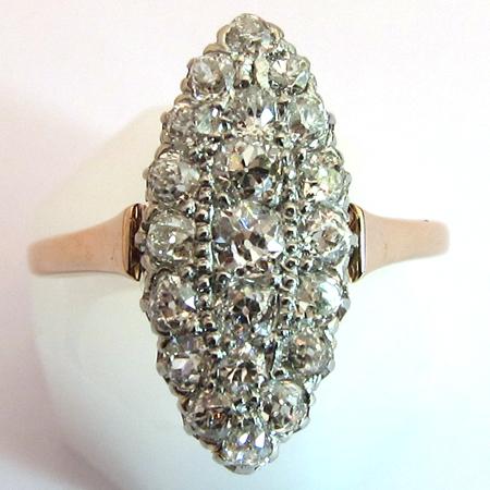 Bague ancienne marquise bijoux la mode for Marquise ancienne