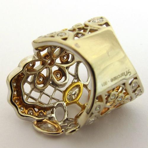 bijoux originaux en or et diamants bague originale d 39 occasion 877 bijoux anciens paris or. Black Bedroom Furniture Sets. Home Design Ideas