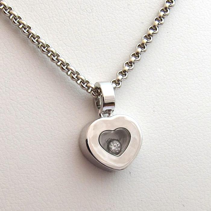 chopard happy diamonds pendentif coeur et chaine chopard 226. Black Bedroom Furniture Sets. Home Design Ideas