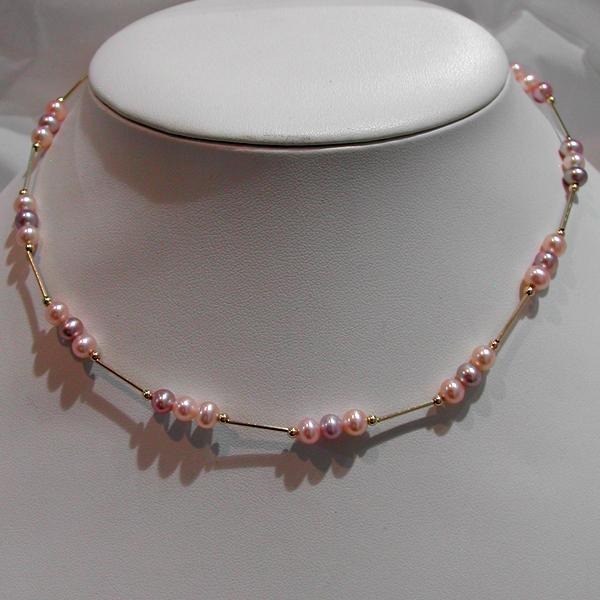 collier or perles de culture d eau douce 93 bijou d. Black Bedroom Furniture Sets. Home Design Ideas