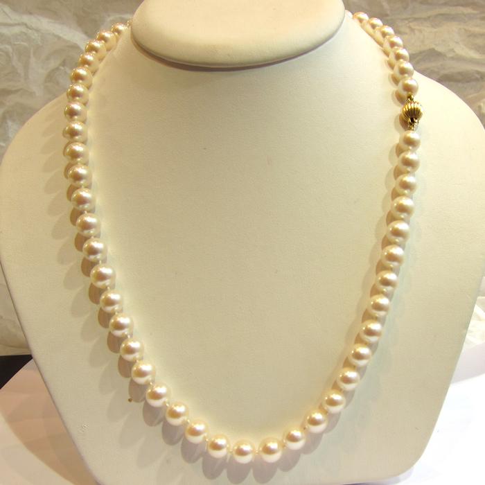 collier de perles de culture 137 achat vente de bijoux. Black Bedroom Furniture Sets. Home Design Ideas