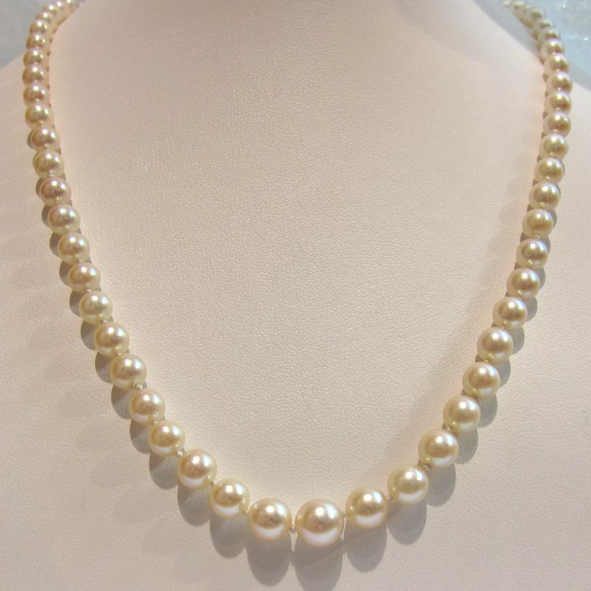 collier perle du japon