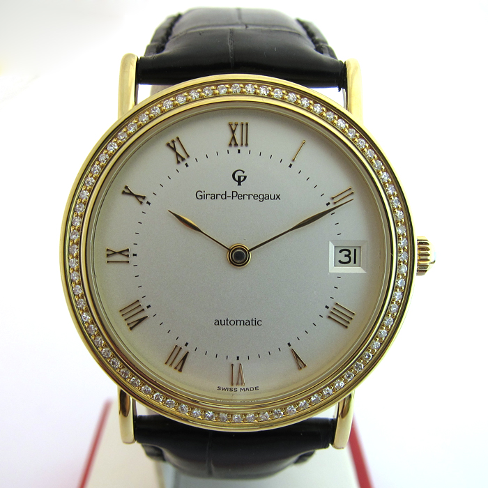 montre girard perregaux automatique or diamants 103 montres occasion paris. Black Bedroom Furniture Sets. Home Design Ideas