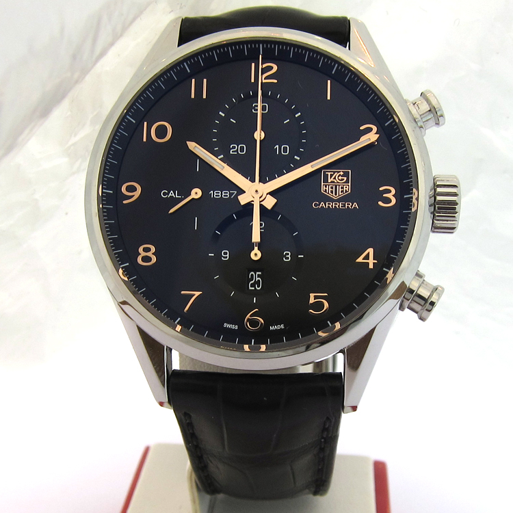 tag heuer chronographe tag heuer carrera calibre 1887 montre 115. Black Bedroom Furniture Sets. Home Design Ideas
