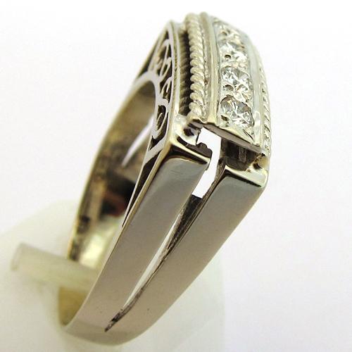 vente bijoux occasion paris bague diamants or blanc 1268 bijoux anciens paris. Black Bedroom Furniture Sets. Home Design Ideas