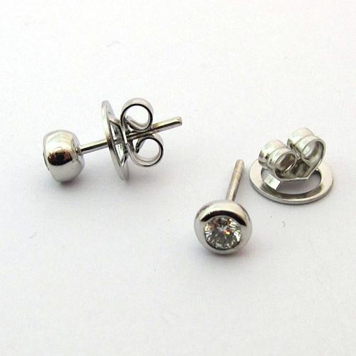 acheteur revendeur de bijoux or et diamants a paris boucles d 39 oreilles or blanc diamant. Black Bedroom Furniture Sets. Home Design Ideas
