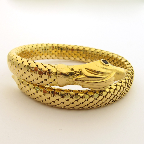 Bracelet or serpent 112 \u2013Bracelets occasion Paris