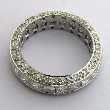 bague diamant princesse 756 bijoux de prestige occasion bijoux anciens paris or. Black Bedroom Furniture Sets. Home Design Ideas