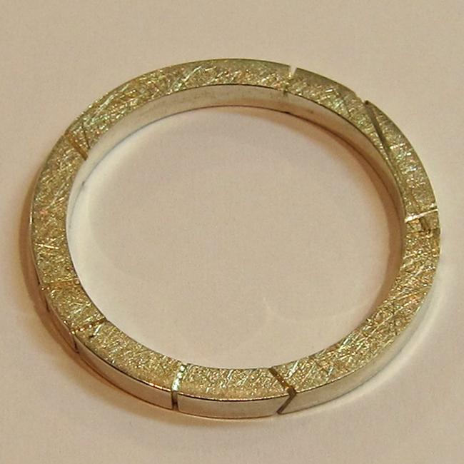 Alliance en argent c32 bijou de createur for Peinture couleur argent pour bijoux