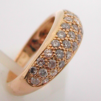 Bague Or Diamants Jonc 412 Bijou D Occasion Bijoux