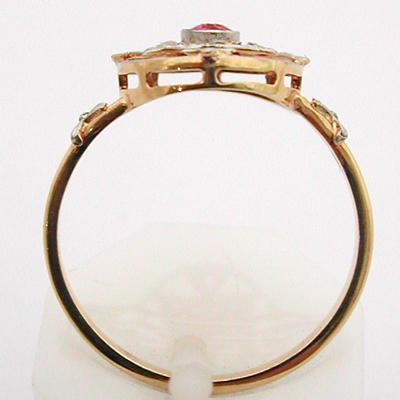 bague ancienne or platine diamants 505 bagues de fian ailles bijoux anciens paris or. Black Bedroom Furniture Sets. Home Design Ideas