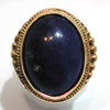 Bague en or et lapis-lazuli 532