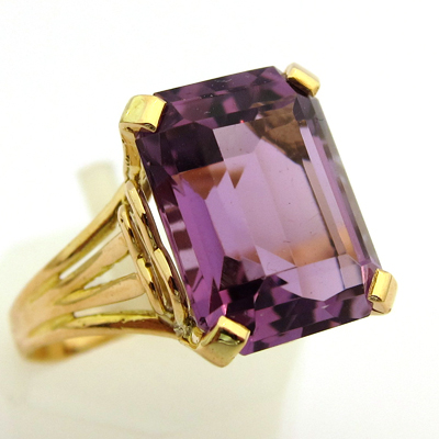 bague or amethyste occasion