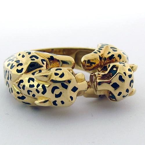 Cartier bague leopard