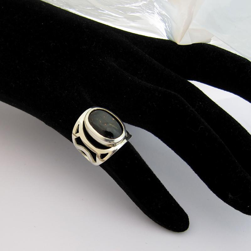 bague argent diopside c31 bijou pour homme ou pour femme bijoux anciens paris argent. Black Bedroom Furniture Sets. Home Design Ideas