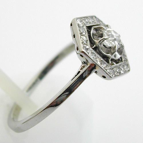 bague fiancaille ancienne diamant. Black Bedroom Furniture Sets. Home Design Ideas