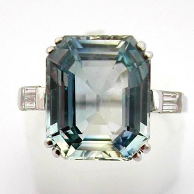 bague or platine saphir diamants 481 bagues de fian ailles bijoux anciens paris or. Black Bedroom Furniture Sets. Home Design Ideas