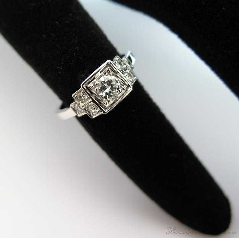 bague diamant 1930