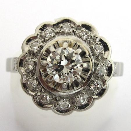 bague-marguerite-diamants-797-bagues-de-fiancailles-anciennes ...