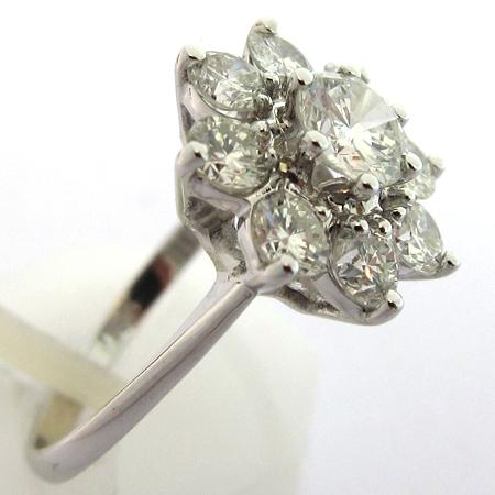 bague or blanc diamant d'occasion