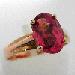 Bague tourmaline et or 462 - Achat vente de bijoux occasion en or à Paris