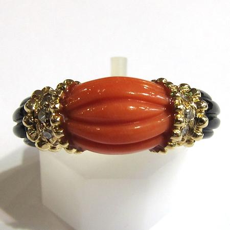 expertise de bijoux or bague or corail diamants 846 bijoux anciens paris 12. Black Bedroom Furniture Sets. Home Design Ideas