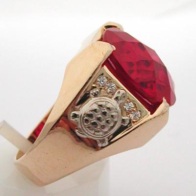 bijoux pour homme paris bagues bague or pierre rouge. Black Bedroom Furniture Sets. Home Design Ideas