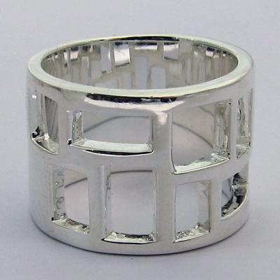 bague argent moderne 311 bijou contemporain bijoux anciens paris argent. Black Bedroom Furniture Sets. Home Design Ideas