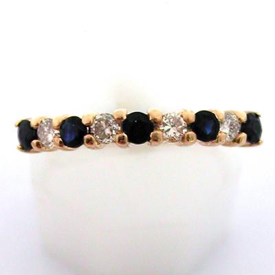 ... saphirs diamants 634 – Alliance de mariage : Bijoux anciens Paris Or