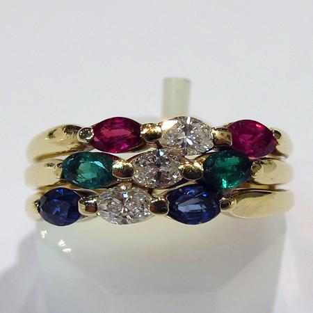 bague or pierres pr cieuses 716 bijou moderne occasion bijoux anciens paris or. Black Bedroom Furniture Sets. Home Design Ideas