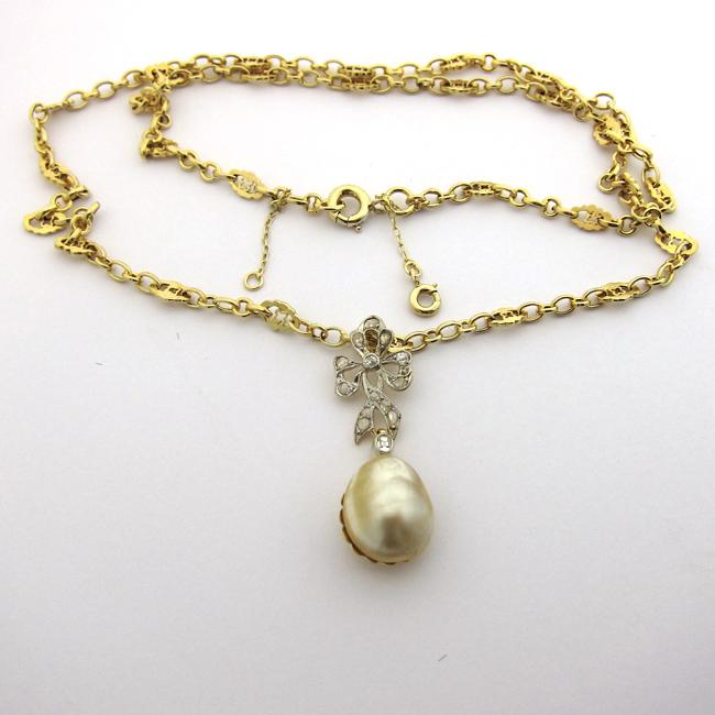 collier perle fine