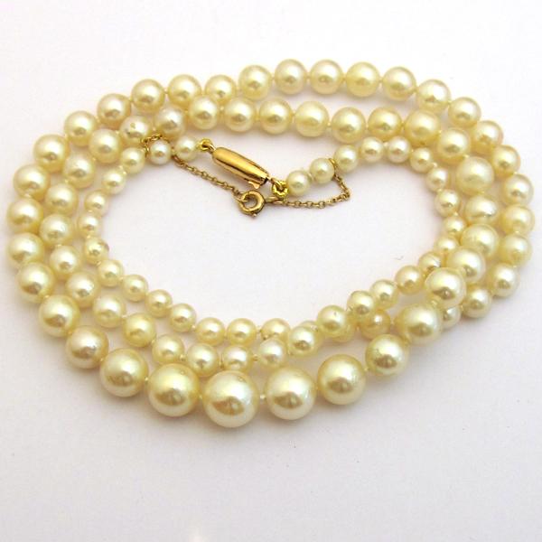 bijouterie vintage collier de perles de culture 173. Black Bedroom Furniture Sets. Home Design Ideas