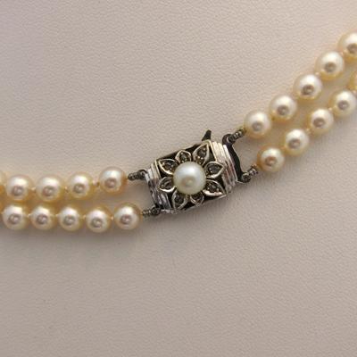 collier de perles de culture du japon 113 bijoux anciens paris or. Black Bedroom Furniture Sets. Home Design Ideas