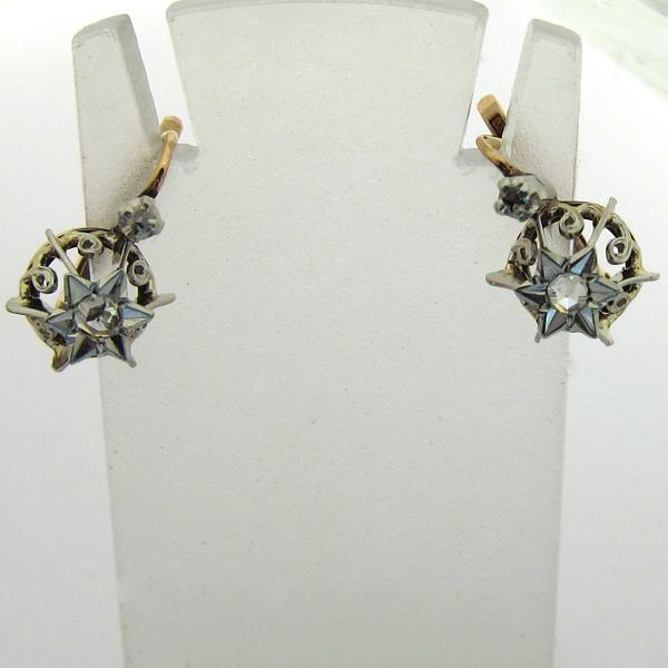 bijor bijoux anciens en or boucles d 39 oreilles page 1. Black Bedroom Furniture Sets. Home Design Ideas