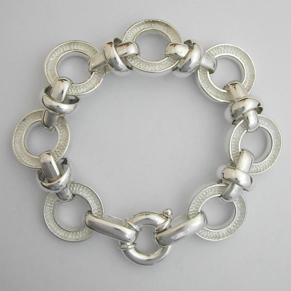 bracelet argent massif 76 bijou moderne bijoux anciens paris argent. Black Bedroom Furniture Sets. Home Design Ideas