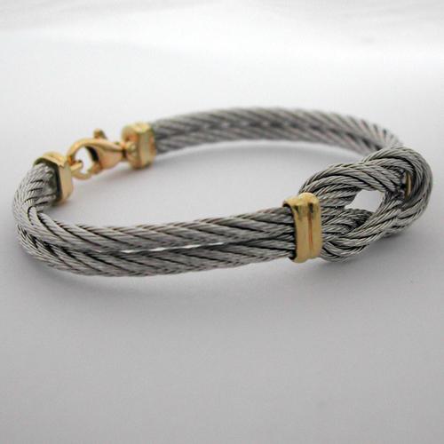 achat de bijoux de marque signes bracelet or acier 91 marque fred force 10. Black Bedroom Furniture Sets. Home Design Ideas