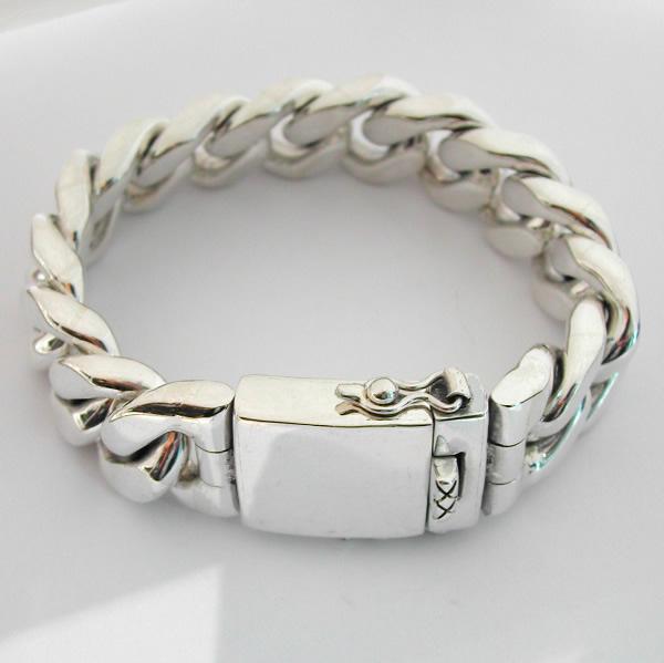 bracelet gourmette en argent massif 61 bijoux anciens. Black Bedroom Furniture Sets. Home Design Ideas