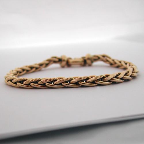 bracelet or 78 bijou d 39 occasion bijoux anciens paris or. Black Bedroom Furniture Sets. Home Design Ideas